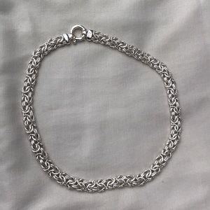 Vintage italian sterling silver necklace